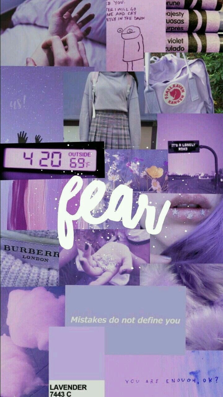 Purple Aesthetic Collage Shared By S On We Heart It
