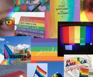 aesthetic, rainbow, and lgbt aesthetic image