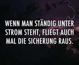 deutsch, inspiration, and sprüche image
