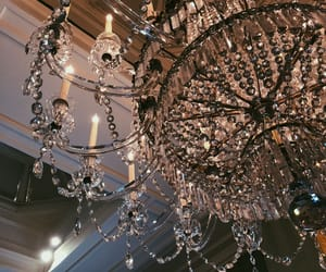 aesthetic, background, and chandelier image