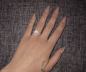 baby girl, tattoo, and dimond image