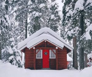 winter and house image