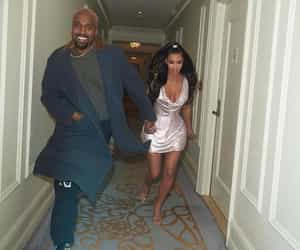 kim kardashian, kanye west, and kardashian image