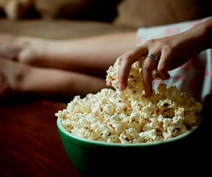 popcorn, food, and Pop cOrn image
