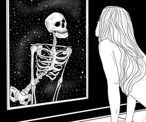 aesthetic and skeleton image