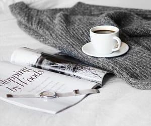 beautiful, book, and coffee image
