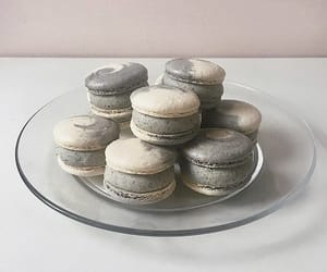 grey, korean, and macaron image