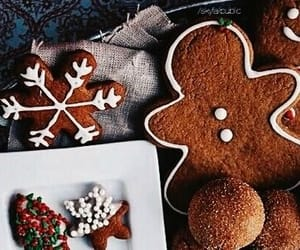 christmas, Christmas party, and gingerbread image