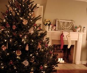christmas tree, christmas, and decorations image