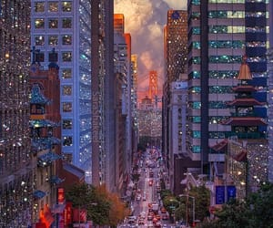 city, san francisco, and california image