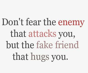 quotes, enemy, and friends image
