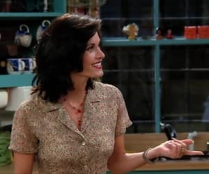 monica geller, smile, and woman image