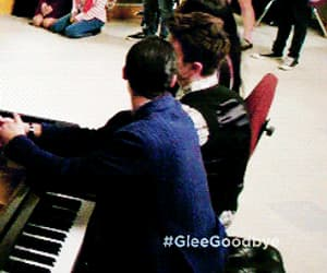 gif, klaine, and darren criss image