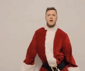 celebrities, christmas, and gif image