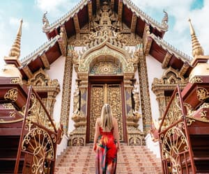 beautiful, girl, and Temple image