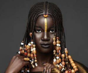 africa, model, and braiding image