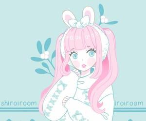 blue eyes, girls, and kawaii image