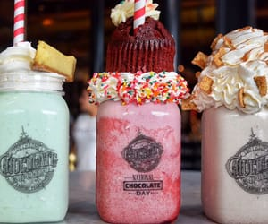 drink, cupcake, and smoothie image