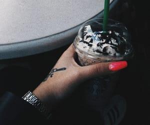 adidas, coffee, and drink image