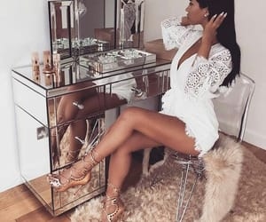 luxury, makeup, and style image