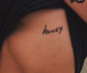 tattoo and honey image