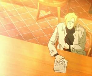 anime, gif, and ash lynx image