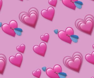 heart, mi, and pink image