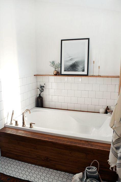 Postbox Designs Interior E Design Navy Boho Bathroom Makeover Mini Bathroom Makeover Online Interior Design Image Via Bre Purposed