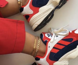 adidas, gold, and outfit image