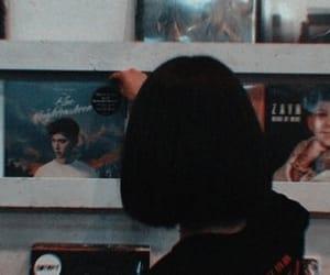 girl, music, and album image