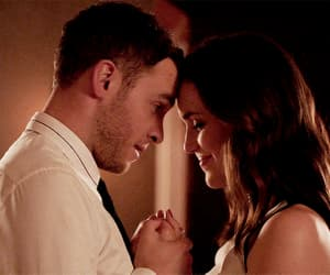 chemistry, leo fitz, and couple image