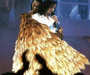 michael jackson, angel, and will you be there image