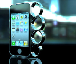 case, iphone, and knuckle image