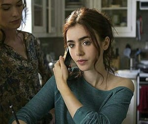 the mortal instruments, city of bones, and lily collins image