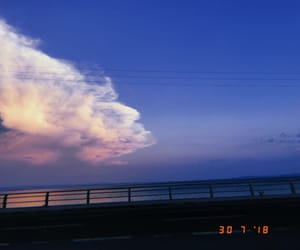 cloud, sea, and summer image