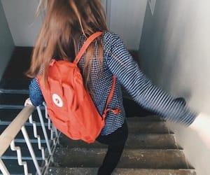 kanken, backpack, and school image