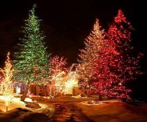 christmas tree, gifts, and joyful image