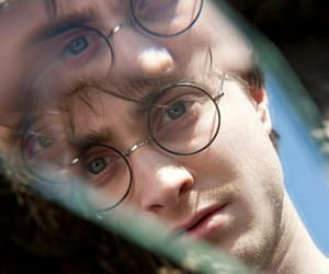 harry potter, daniel radcliffe, and mirror image