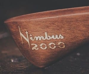 harry potter, broom, and nimbus 2000 image