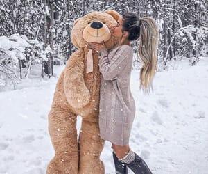 snow, beautiful, and fashion image
