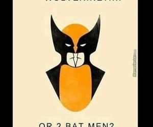 wolverine, batman, and illusion image