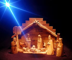 carving, Nativity, and handcrafted image