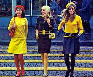 60s, fashion, and style image