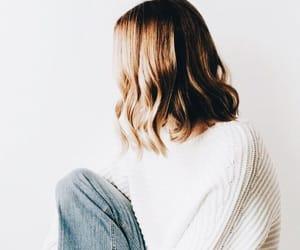 bun, cozy, and hair image