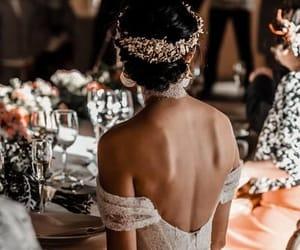 beautiful, wedding dress, and weddings image
