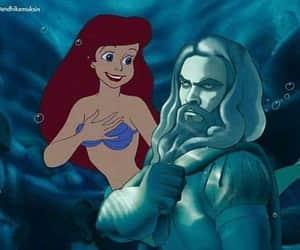 aquaman, fun, and little mermaid image