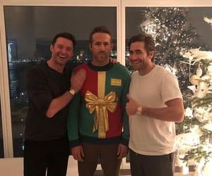 hugh jackman, jake gyllenhaal, and ryan reynolds image
