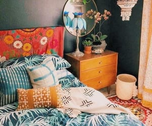 bedroom, boho, and tumblr image