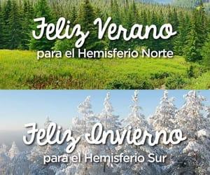 feliz, winter, and frases español image