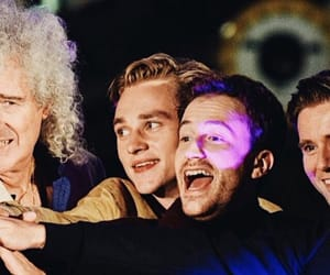 Queen, brian may, and bohemian rhapsody image